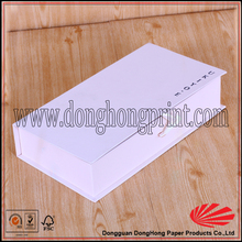 Plain cheap white chalk packaging box