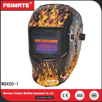 FEIMATE High Quality Customize Auto-Darkening PP Material Welding Helmet