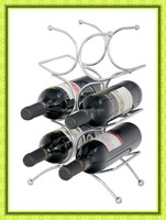 Eco Friendly Wholesale Decorative Metal Wine Rack