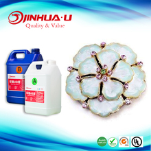 Factory Manufacturer 2 Part AB Mixture High Doming Resin Crystal Epoxy Glue