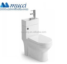 WRAS Certified RT fitting toilet with basin sink