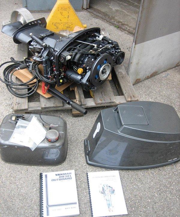 китайский дизельный подвесной мотор