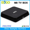 High quality AMLogic S802 tv box Android 4.4 M8 bluetooth Quad core external antenna android tv box