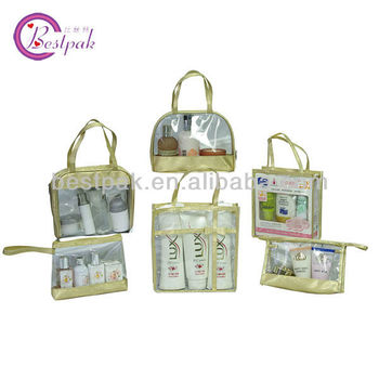 wearable comestic PVC bags