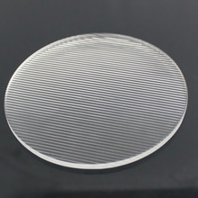 50/65/66/78/80mm glass sheet ,borofloat / pyrex LED lens for Light cover