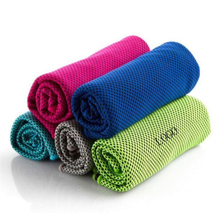Newest selling good quality functional polyester magic cooling towel