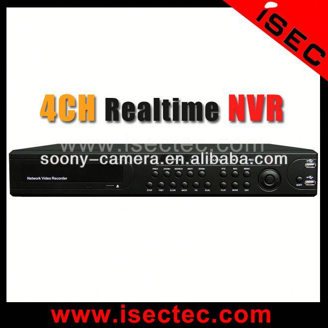 2014 High quality P2P 4CH NVR, Support 4CH 960P playback 4ch mpeg4 network dvr