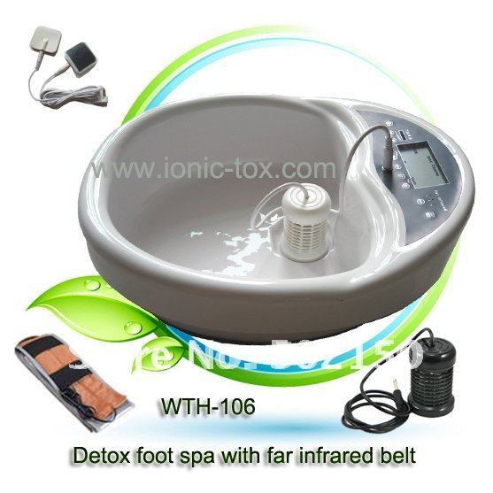 Ionic Detox Foot Machine with Transcutaneous Electrical Nerve Stimulation Message Therapy WTH-106