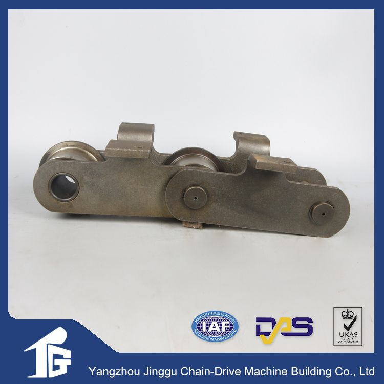 Materials handing mechanical metal chain of conveyor chain
