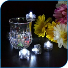2015 Romantic Wedding Decoration Color Changing Led Submersible Floral Light