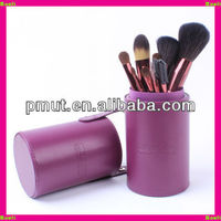 cosmetic bag brush holder