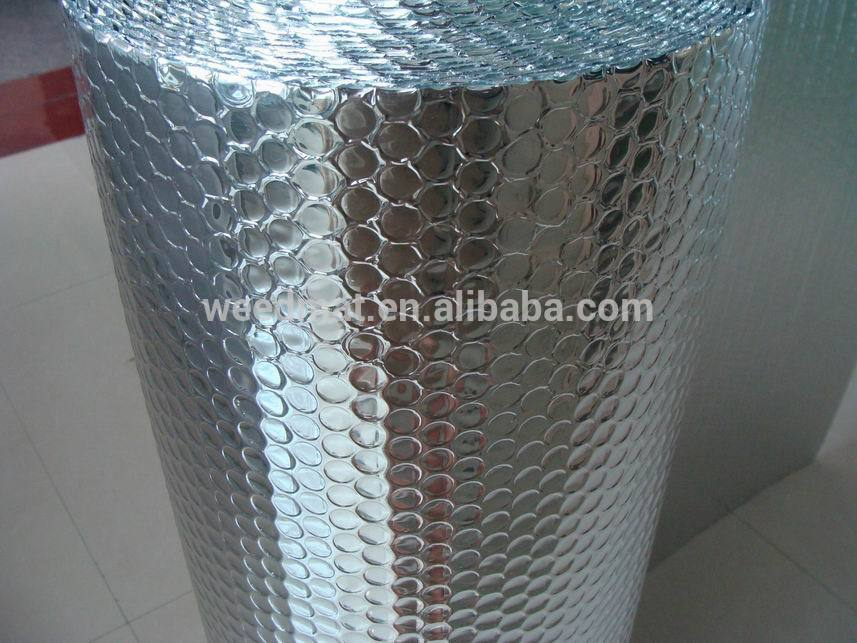 aluminum thermal reflective foil bubble insulation
