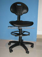 Adjustable Laboratory Stool with wheels/Drafting Chair