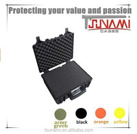 IP67 waterproof foam case hand plastic storage box locking case latches