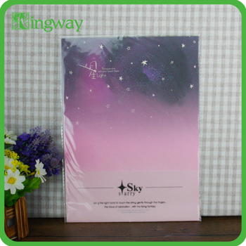 Transparent bopp plastic bag with self-adhesive seal for packaging plastic bag