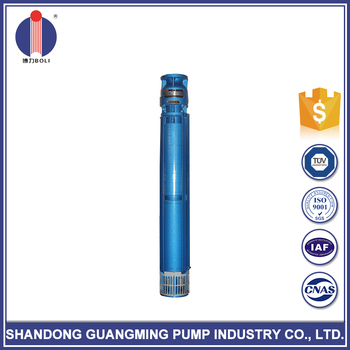 Newest design dc submersible tube well water pump