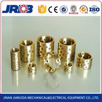 JRDB bronze bearing steel backed bushing