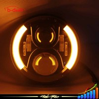 B-deals Waterproof 80W C ree LED COB projector fog light for jeep Rubicon 7102