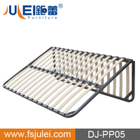 modern steel & wooden folding chop slat bed frame base DJ-PP05