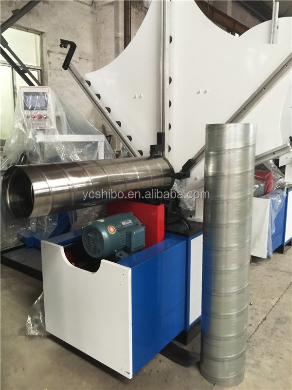 HVAC Automatic spiral duct machine