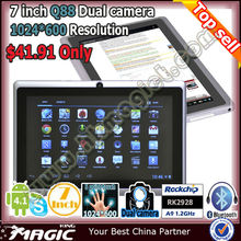 The cheapest 7 inch Q88 android 4.1 united tablet