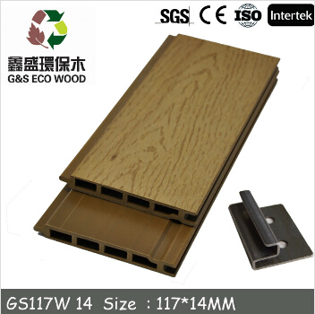 Raw Material Making outdoor wpc Wall Panel good quality anti-uv wpc wall cladding