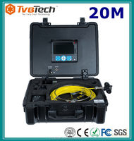 CCTV Video Camera Plumbing Tool Video Pipe Inspection Camera For Drain Sewer With Waterproof Case