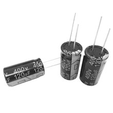 Factory Wholesale Low Price 120uf 400v Aluminum Electrolytic Capacitor