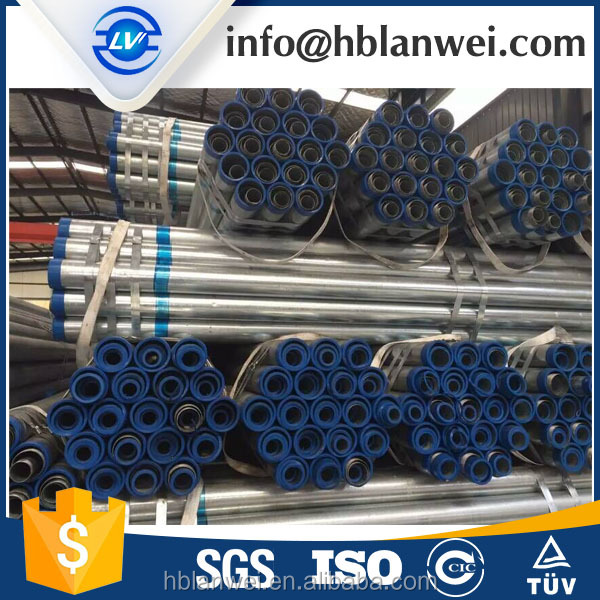 GALVAN PIPE FOR GREENHOUS BS1387 HOT DIPPED GI PIPE FOR GREENHOUSE HIGH COST-EFFECTIVE GI PIPE SCHEDULE 40