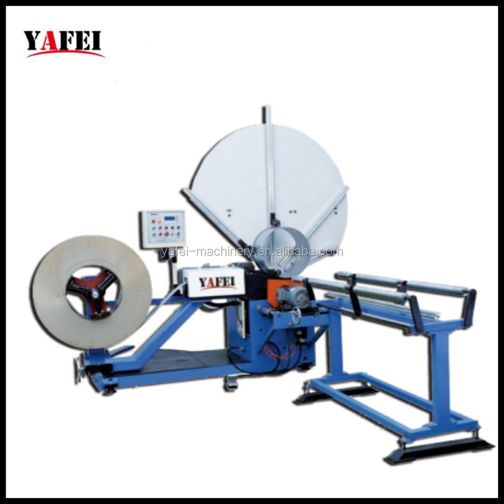 Spiral Fin Tube Machine for Ventilation Duct Production