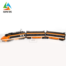 best selling assembling 21007 building blocks bullet train toy with high quality
