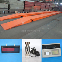 100ton digital weighing truck scales