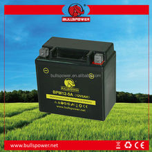 Green 12n7 4a 125cc 12v 6ah mf motorcycle battery 12v10ah