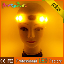custom flash light silicone tiara