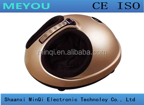 Hot sale electric shiatsu infrared heating blood circulation foot massage