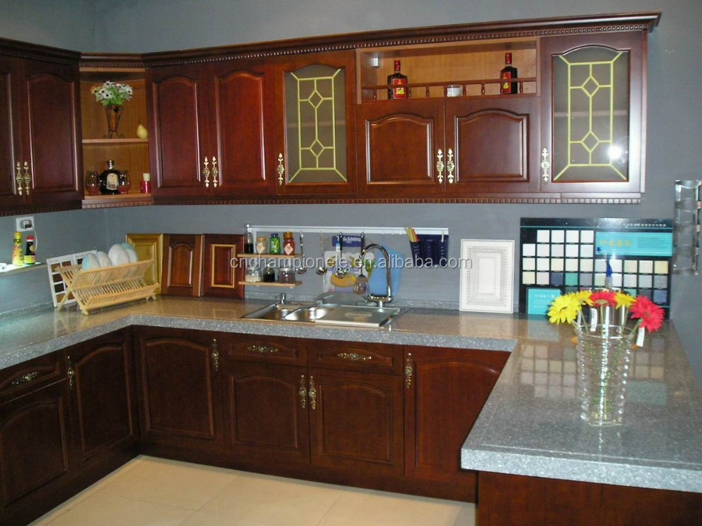 Frosted Glass Doors Kitchen Cabinet Buy Solid Wood Kitchen Cabinet
