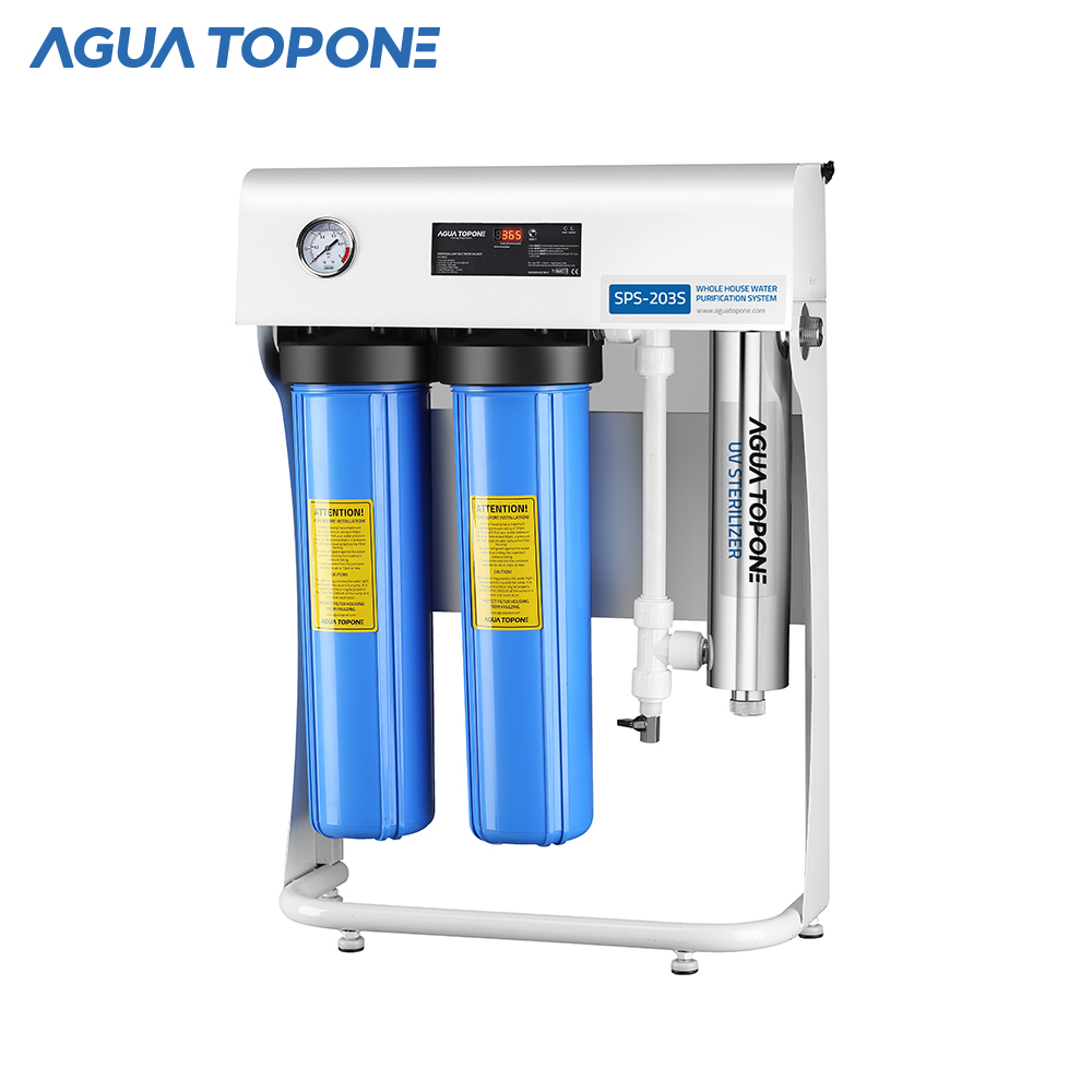 whole house drinking 20'' big blue water filter UV water <strong>system</strong>
