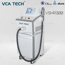 2017 new launched hair removal machine 3 handles SHR goggles with USA connector