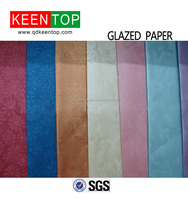 color glazed paper/glazed paper