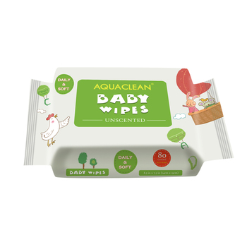 80 baby wipes unscented