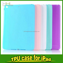 Favorable price new design jelly sets of skin soft tpu case for Ipad 5