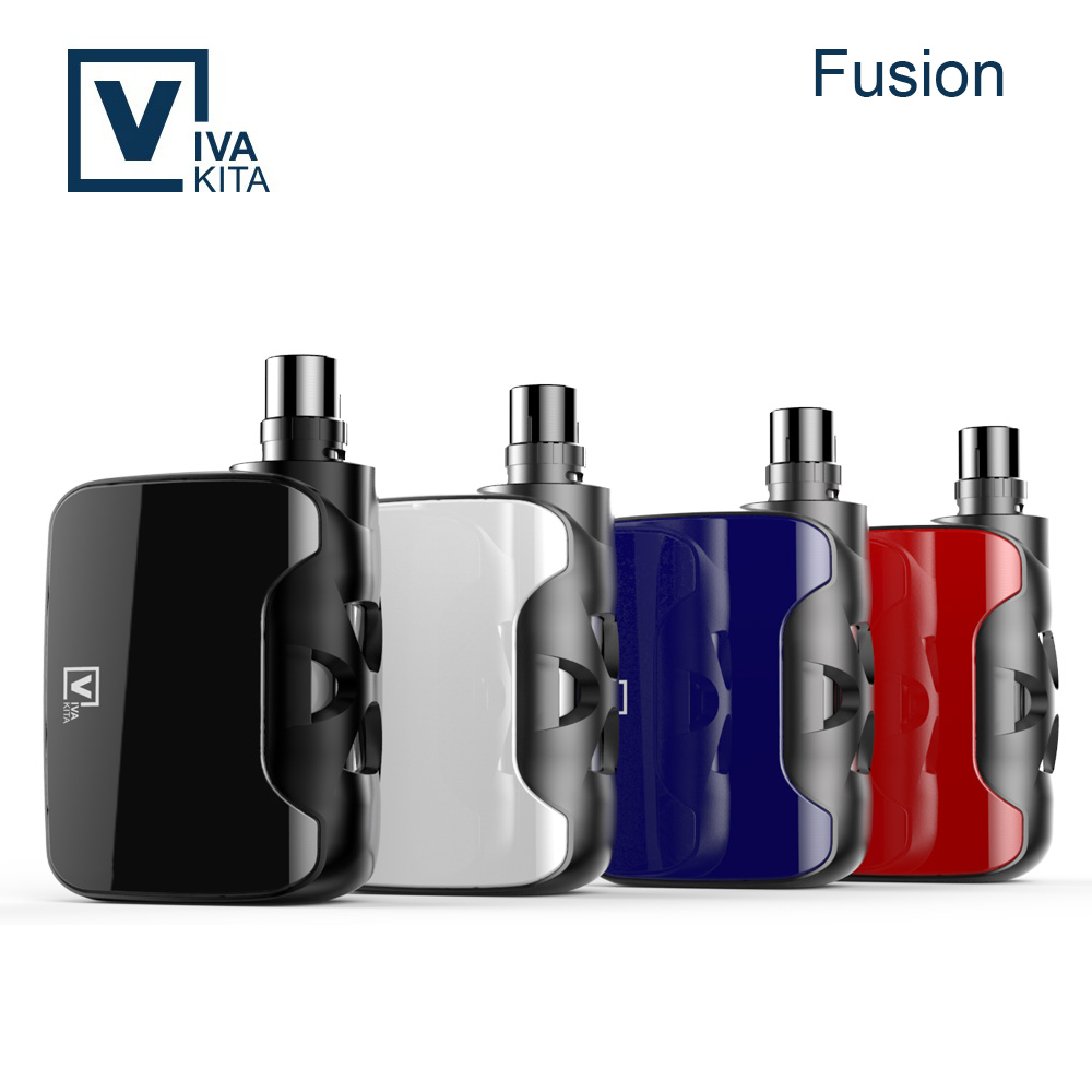 Lastest cigarette electronic huge vapor box mod FUSION 50w variable wattage mod electronic cigarette singapore
