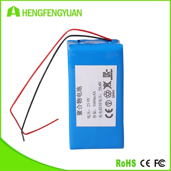 OEM 3000mAh Rechargeable Lithium Battery Battery Pack for Electric Shooter 18650 Custom Battery Pack
