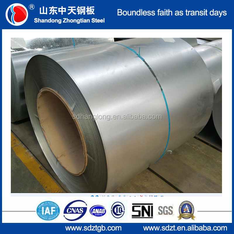 Top quality galvalume steel coils full hard g550