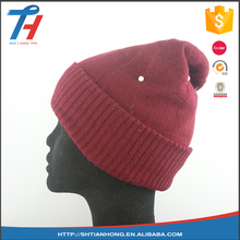 China wholesale latest design women men winter knitted hat