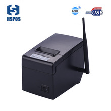 Pos 58mm online receipt printer HS-E58UG thermal printer with linux driver USB port high printing speed