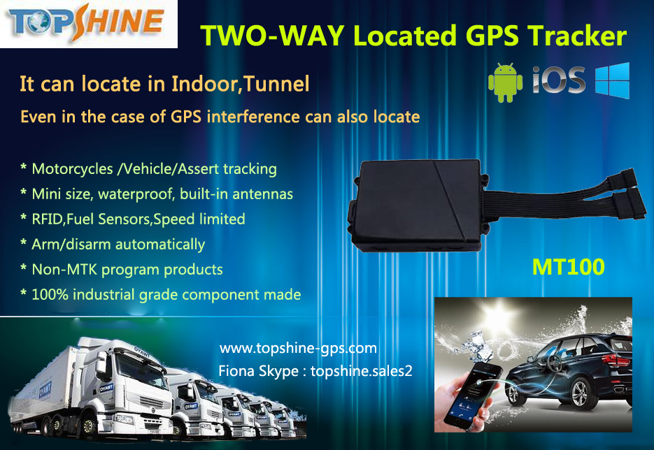 Multifunction Vehicle GPS tracker with Multi 100 Geofence with Free Tracking Platform