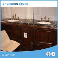 Popular New Design Polished Marble Countertop Vanity Tops for Bathroom