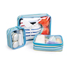 new product polyester traveling multifunction toilet bag