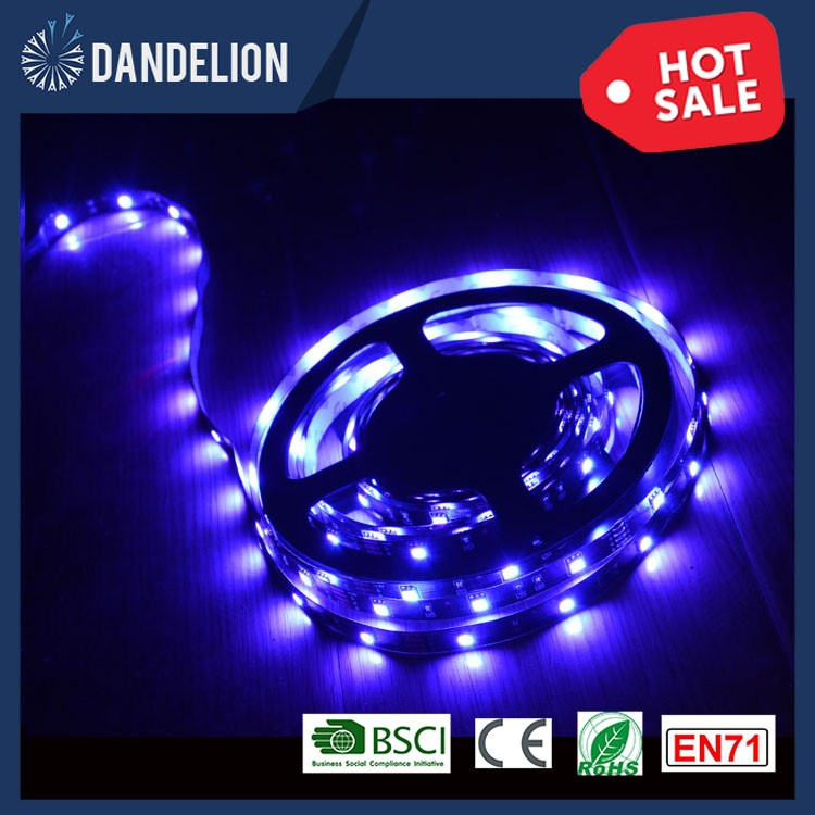 Hot sale led flexible neon strip lightDC12V 24Key Remote Flexible 5M 150LEDs 5050 rgbw LED light strip